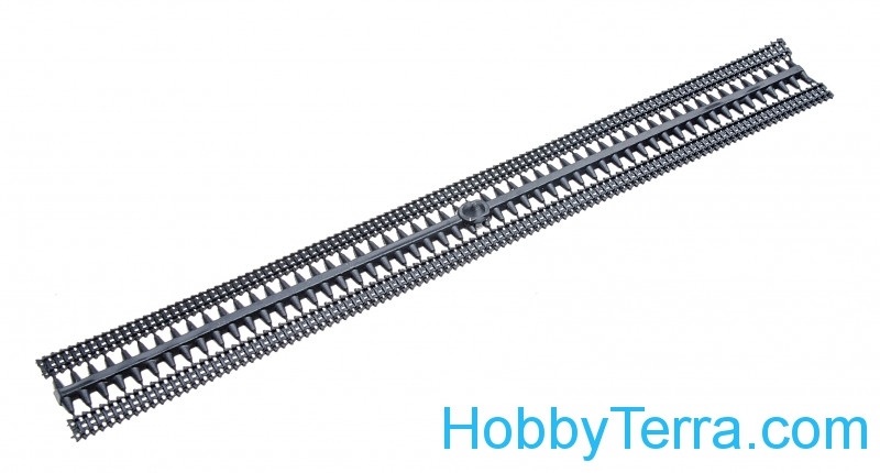 Panzer II type rubber tracks