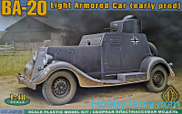 BA-20 light armored car, early prod.