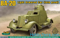 BA-20 light armored car, late prod.