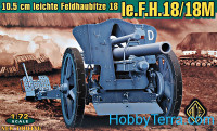 FH.18 German 105mm field howitzer