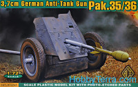 3.7cm Pak.35/36 German anti-tank gun