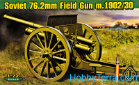 Soviet 76.2mm Field Gun m.1902/30