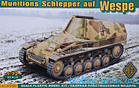 Munitions Schlepper auf Wespe