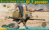 QF 2 pounder British 40mm AT gun