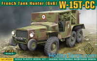W-15T-CC French tank hunter (6x6)