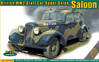 Super Snipe Saloon British Staff Car WW2