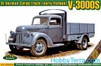 V-3000S 3t German cargo truck (early flatbed)