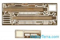 Photo-etched set for light tank T-70 from UM. cat#7222