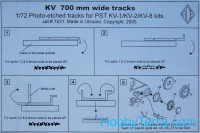 KV 700mm wide tracks. cat#7231