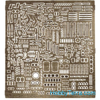 Modern Soviet/Russian aviation set (small universal parts)