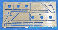 Photo-etched set for BTR-70 Add-on armor (for ACE kits #72164 & 72166)