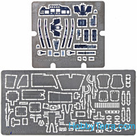 Photo-etched set for Ka-52 interior, for Zvezda kit