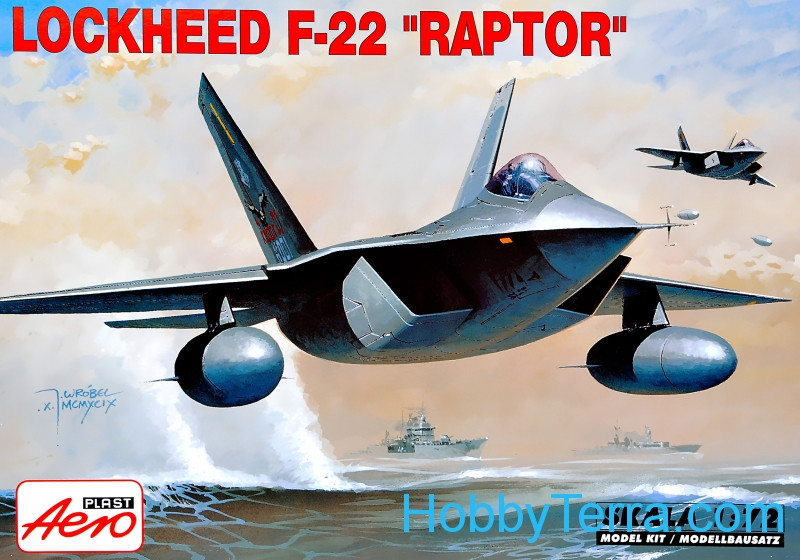 "F-22 ""Raptor"" fighter"