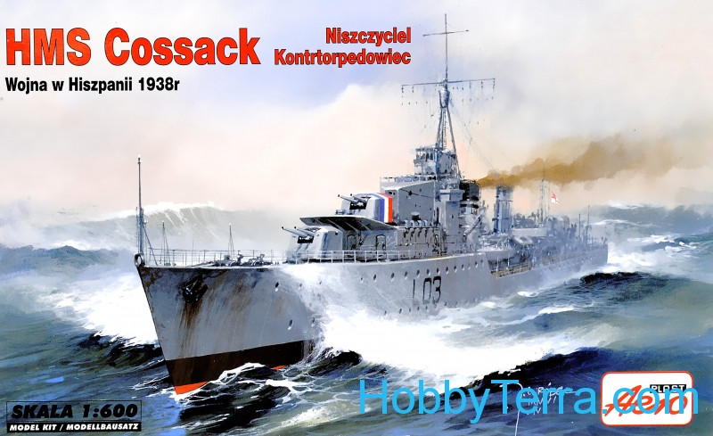 HMS Cossack (War in Spain, 1938)