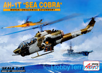 "AH-1T ""Sea Cobra"" helicopter"