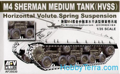 Suspension for M4A3E8 HVSS