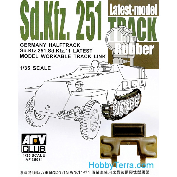 AFV-Club  35081 Track for Sd.Kfz.251, late type