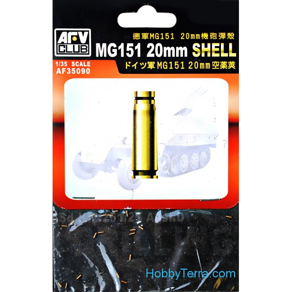 20mm shell for MG151
