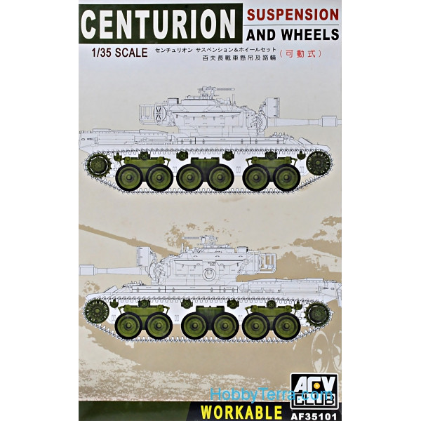 Centurion suspension and wheels (workable)