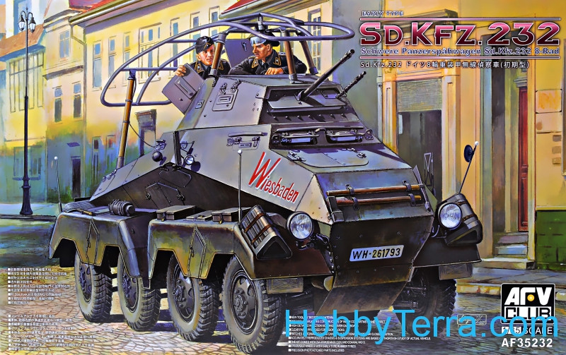 Sd.Kfz.232, early type