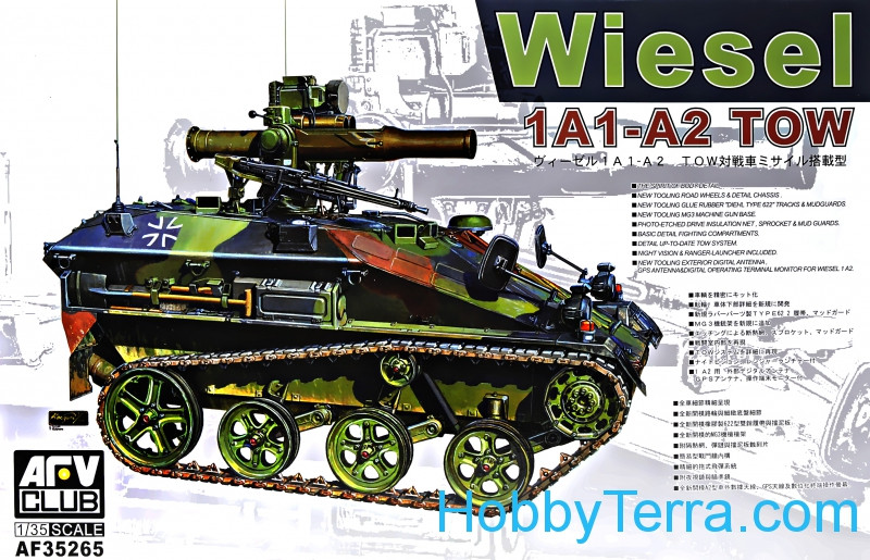 Wiesel 1A1 - A2 Tow