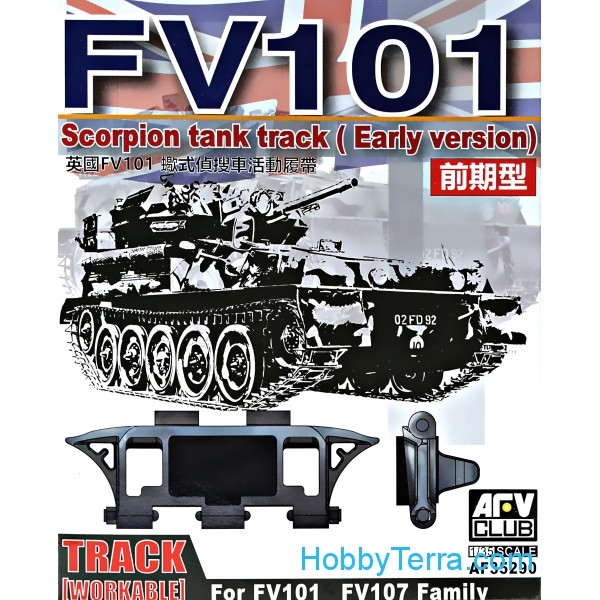 Tracks workable for Scorpion FV101, FV107, early version