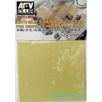 Anti-slip coating stickers for vehicle/tank/aircraft/ship