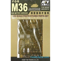 Photo-etched set 1/35 for M36 Jackson