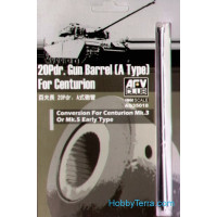 Gun barrel 20Pdr. (A Type) for Centurion Mk.III-V