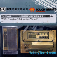 "Photo-etched set 1/35 for Russian T-34 series ""Touch"""