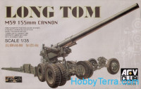 Long Tom M59 155mm cannon