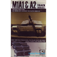Workable tracks 1/35 for M1A1/A2 Abrams tank