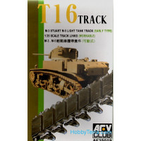 T16 track (workable) for M3 Stuart, early type