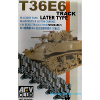 T36E6 track for M5 tank / M8 howitzer, late type