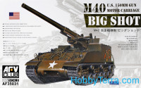 "M40 ""Big Shot"" US 150mm motor carriage"