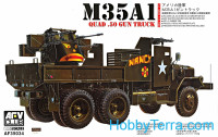 M35A1 truck with a gun (Vietnam War)
