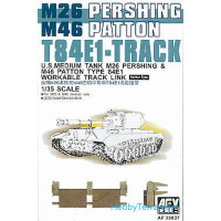 Track T84E1 for M26/M46 Pershing / Patton tank