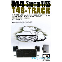 Workable track for M4 Sherman VVSS