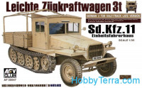 German 3 ton half-track Sd.Kfz.11, late version