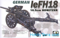 leFH18 105mm German howitzer