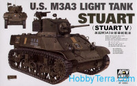 "US M3A3 ""Stuart"" light tank"
