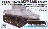 Suspension for M3/M5/M8 Stuart tank