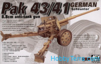 German 88mm Pak.43/41 anti-tank gun