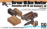Ammunition and accessory set for 105mm leFH18 gun
