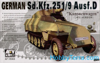 Sd.Kfz.251/9 Ausf.D half-track with 75mm gun