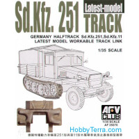 Track for Sd.Kfz.251, late type (workable)