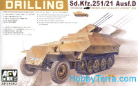 Sd.Kfz.251/21 Ausf.D Drilling