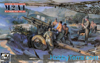 105mm Howitzer M2A1 Carriage M2A2, WWII
