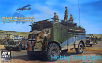 AEC Armored commander car - Rommel's Mammoth DAK