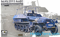 Sd.Kfz.251/3 Ausf.C commander vehicle